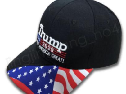 Black Trump Flag Hat