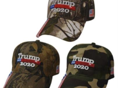 Camo Flag Hats