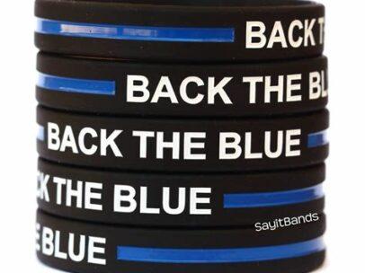 back the blue stack